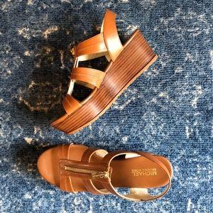 MICHAEL Michael Kors Platform Zipper Sandals